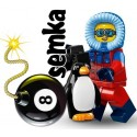 LEGO 71013 MINIFIGURES 16 BADACZKA Z APARATEM