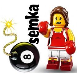 LEGO 71013 MINIFIGURES 16 BOKSERKA