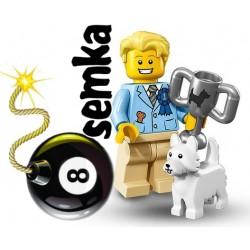 LEGO 71013 MINIFIGURES 16 ZWYCIĘZCA WYSTAWY PSÓW