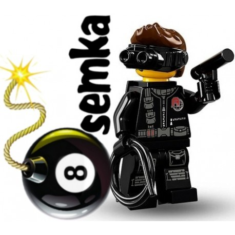LEGO 71013 MINIFIGURES 16 SZPIEG