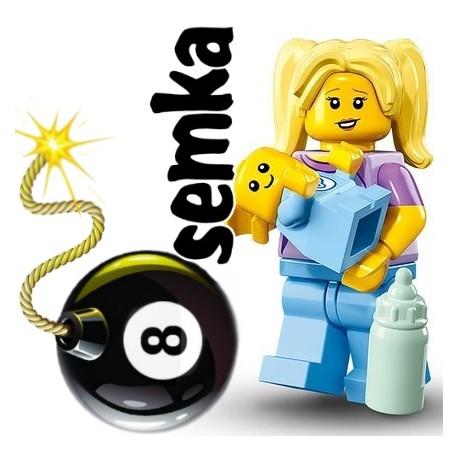 LEGO 71013 MINIFIGURES 16 OPIEKUNKA DZIECI