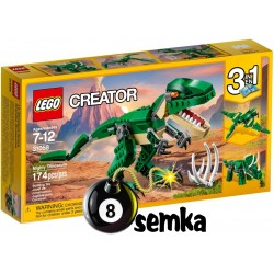 LEGO CREATOR 31058 POTĘŻNE DINOZAURY 3w1