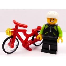 LEGO CITY CHŁOPIEC NA ROWERZE ROWERZYSTA