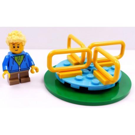 LEGO CITY CHŁOPIEC NA KARUZELI