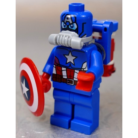 LEGO Figurka LEGO SUPER HEROES SPACE CAPTAIN AMERICA