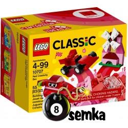 LEGO CLASSIC 10707 CZERWONY ZESTAW KREATYWNY POCIĄG