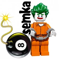LEGO 71017 BATMAN MOVIE MINIFIGURES ARKHAM JOKER
