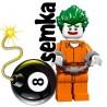 LEGO 71017 BATMAN MOVIE MINIFIGURES ARKHAM JOKER
