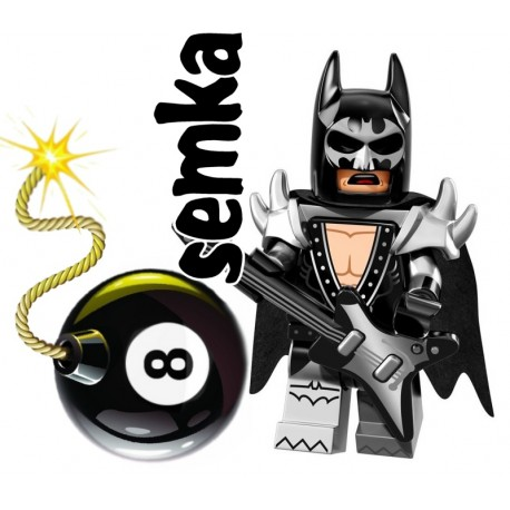 LEGO 71017 BATMAN MOVIE MINIFIGURES GLAM METAL