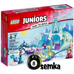 LEGO JUNIORS 10736 PLAC ZABAW ANNY I ELSY FROZEN
