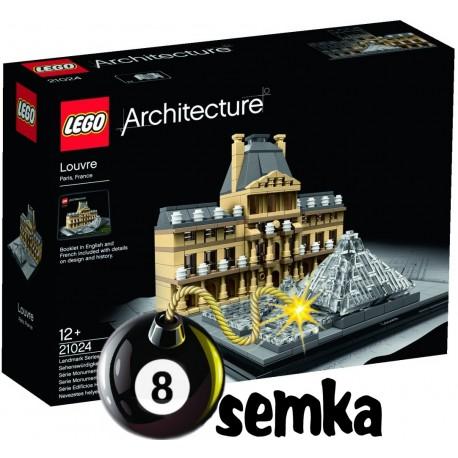 LEGO ARCHITECTURE 21024 LOUVRE - LUWR