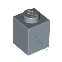 KLOCEK LEGO BRICK 1X1 SAND BLUE - 3005
