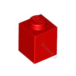 KLOCEK LEGO BRICK 1X1 RED - 3005