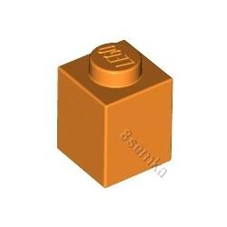 KLOCEK LEGO BRICK 1X1 ORANGE - 3005
