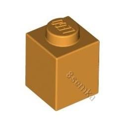 KLOCEK LEGO BRICK 1X1 MEDIUM ORANGE - 3005