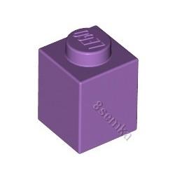 KLOCEK LEGO BRICK 1X1 MEDIUM LAVENDER - 3005