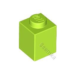 KLOCEK LEGO BRICK 1X1 LIME - 3005