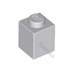 KLOCEK LEGO BRICK 1X1 LIGHT BLUISH GRAY - 3005