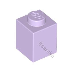 KLOCEK LEGO BRICK 1X1 LAVENDER - 3005