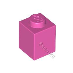 KLOCEK LEGO BRICK 1X1 DARK PINK - 3005