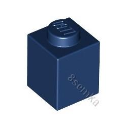 KLOCEK LEGO BRICK 1X1 DARK BLUE - 3005