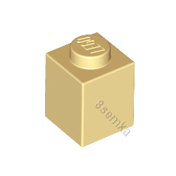 KLOCEK LEGO BRICK 1X1 TAN - 3005
