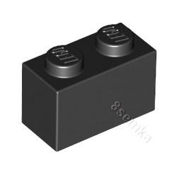KLOCEK LEGO BRICK 1X2 BLACK - 3004