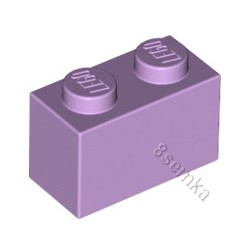 KLOCEK LEGO BRICK 1X2 LAVENDER - 3004