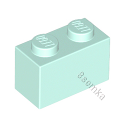 KLOCEK LEGO BRICK 1X2 LIGHT AQUA - 3004