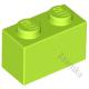 KLOCEK LEGO BRICK 1X2 LIME - 3004