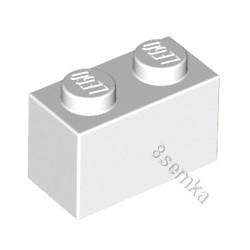 KLOCEK LEGO BRICK 1X2 WHITE - 3004