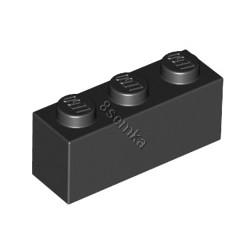 KLOCEK LEGO BRICK 1X3 BLACK - 3622