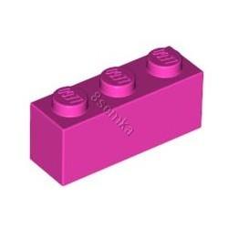 KLOCEK LEGO BRICK 1X3 DARK PINK - 3622