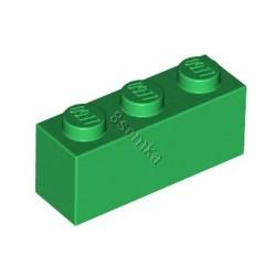 KLOCEK LEGO BRICK 1X3 GREEN - 3622