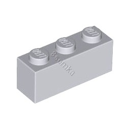 KLOCEK LEGO BRICK 1X3 LIGHT BLUISH GRAY - 3622