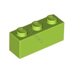 KLOCEK LEGO BRICK 1X3 LIME - 3622
