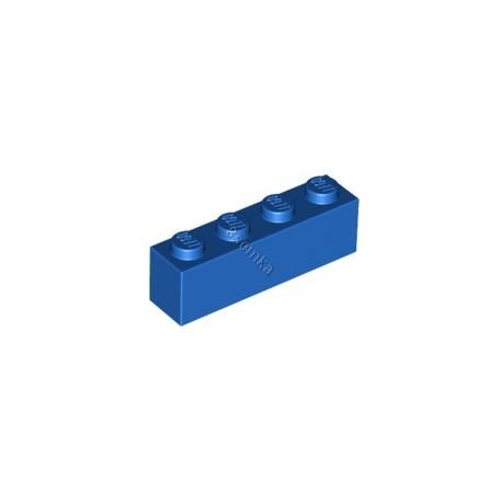 KLOCEK LEGO BRICK 1X4 BLUE - 3010