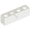 KLOCEK LEGO BRICK 1X4 WHITE - 3010