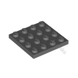 KLOCEK LEGO PLATE 4X4 DARK BLUISH GRAY - 3031