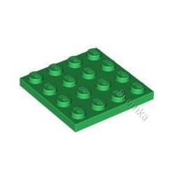 KLOCEK LEGO PLATE 4X4 GREEN - 3031