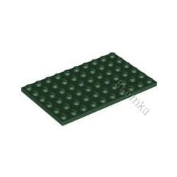KLOCEK LEGO PLATE 6X10 DARK GREEN - 3033