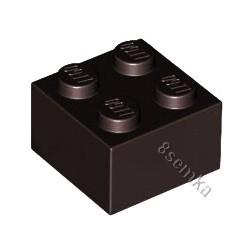 KLOCEK LEGO BRICK 2X2 BLACK - 3003