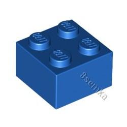 KLOCEK LEGO BRICK 2X2 BLUE - 3003