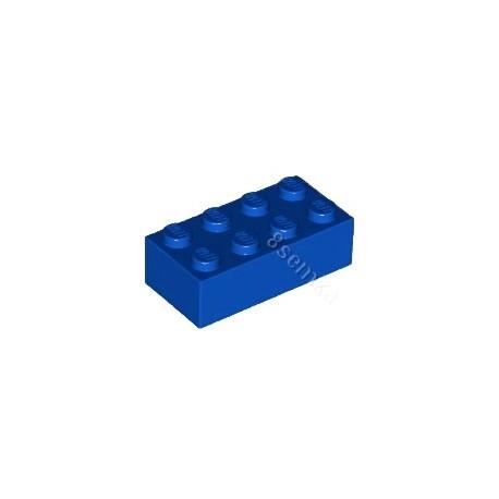 KLOCEK LEGO BRICK 2X4 BLUE - 3001