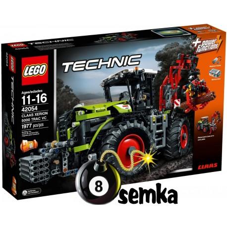 LEGO TECHNIC 42054 CLAAS XERION 5000 TR 2w1