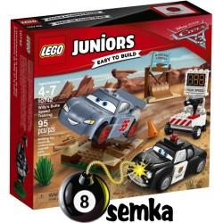 LEGO JUNIORS 10742 TRENING SZYBKOŚCI AUTA 3 CARS