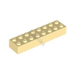 KLOCEK LEGO BRICK 2X8 TAN - 3007