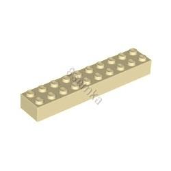 KLOCEK LEGO BRICK 2X10 TAN - 3006