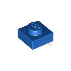 KLOCEK LEGO PLATE 1X1 BLUE - 3024