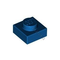 KLOCEK LEGO PLATE 1X1 DARK BLUE - 3024